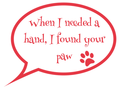 my waggy tails speech bubble